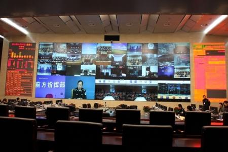 云南省公安厅指挥中心项目