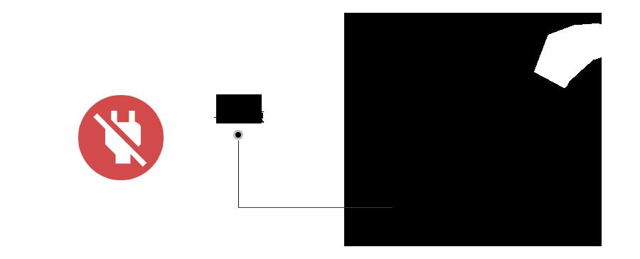 DVI接口窃电,免电源