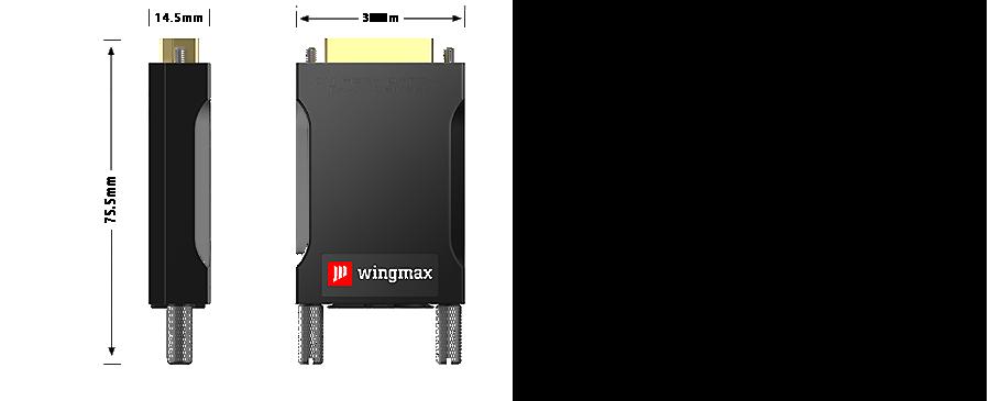 4K迷你超高清光端机尺寸