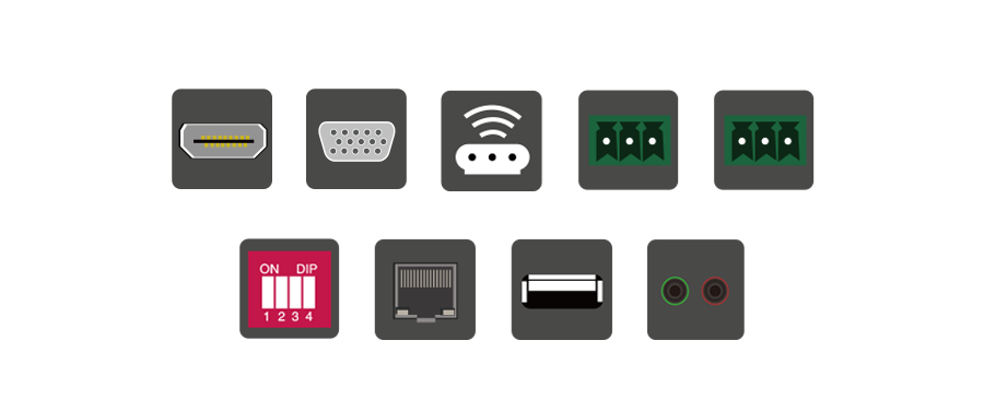 HDMI+USB2.0多业务超高清光端机接口