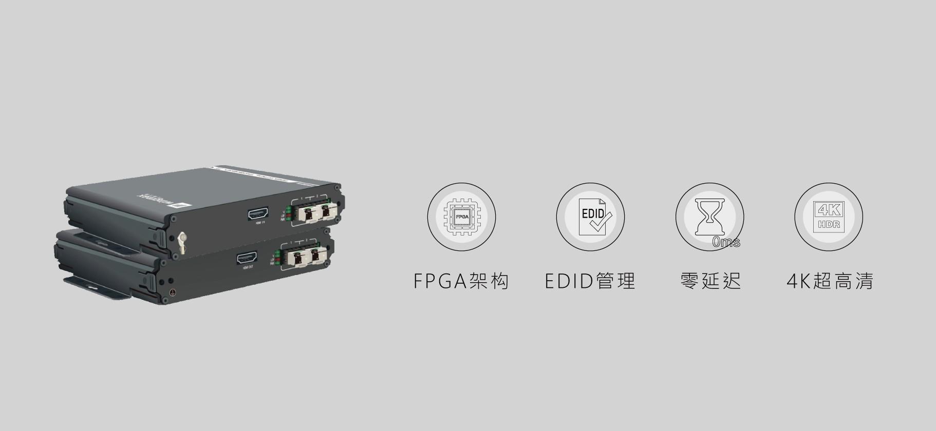 HDMI双纤4K超高清光端机
