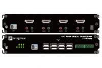 HDMI+USB单纤4路高清光端机