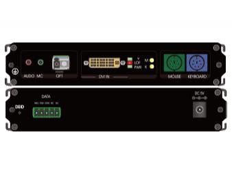 DVI+PS2单纤非压缩高清光端机