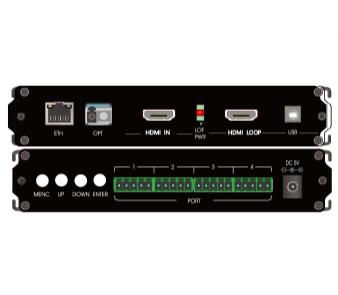 HDMI+USB单纤非压缩高清光端机