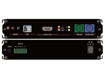 HDMI+PS2单纤非压缩高清光端机