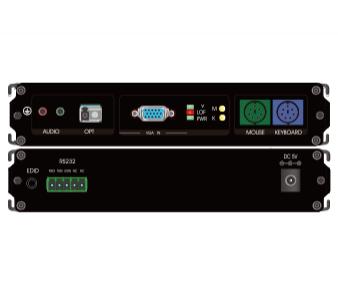 VGA+PS2单纤非压缩高清光端机