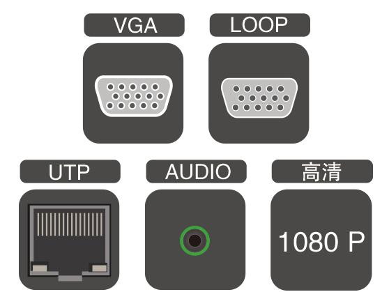 带环出LOOP的VGA双绞线延长器