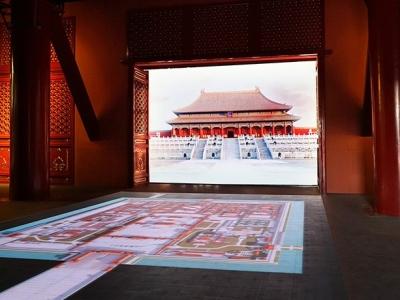 故宫博物院端门展览馆视频传输