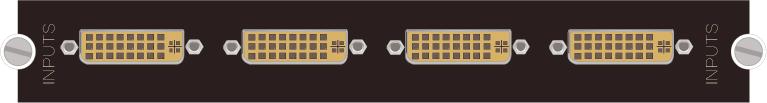 拼控4路DVI-M通用输入卡