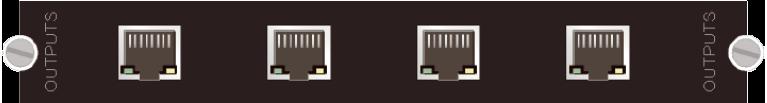 4路HDbaseT输出卡